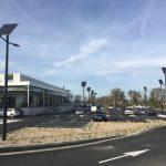 éclairage solaire parking ZAC lacoste narbonne