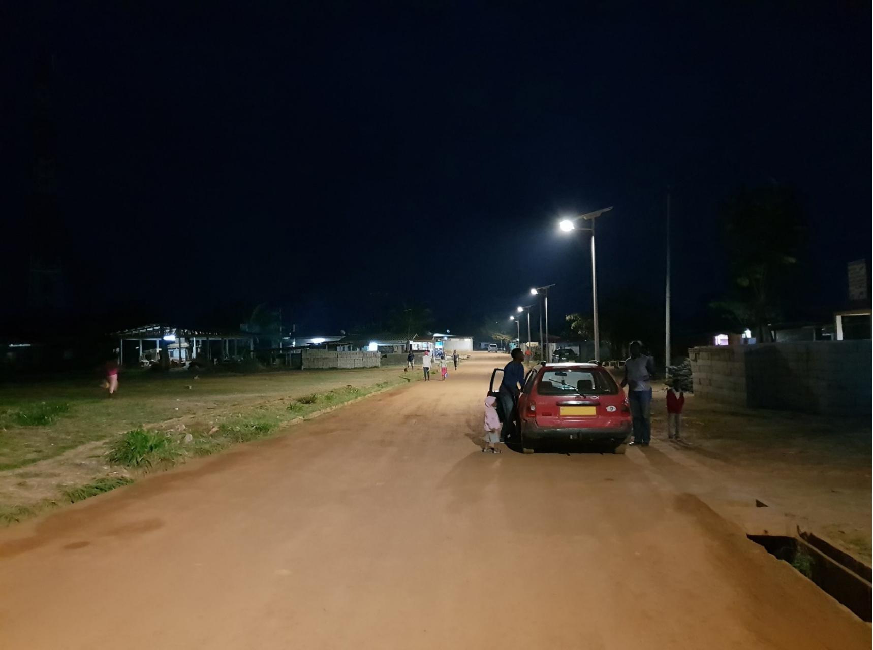 Lampadaires solaire Gabon